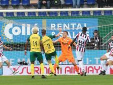 LIVE | Willem II weer naast Fortuna na eigen doelpunt