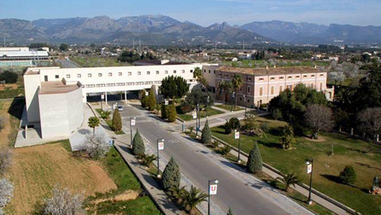 De universiteit van Mallorca. Beeld Foto Universitat de les Illes Balears.