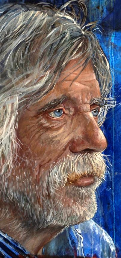 Het portret van Johan Derksen.