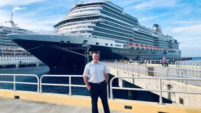 """Vlaamse kapitein Kevin Beirnaert (40) beleeft lockdown op verlaten cruiseschip: """"Het is hier apocalyptisch stil"""""""