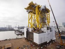 Eerste 'megastopcontact' voor windpark Borssele is straks met het blote oog vanaf het strand te zien