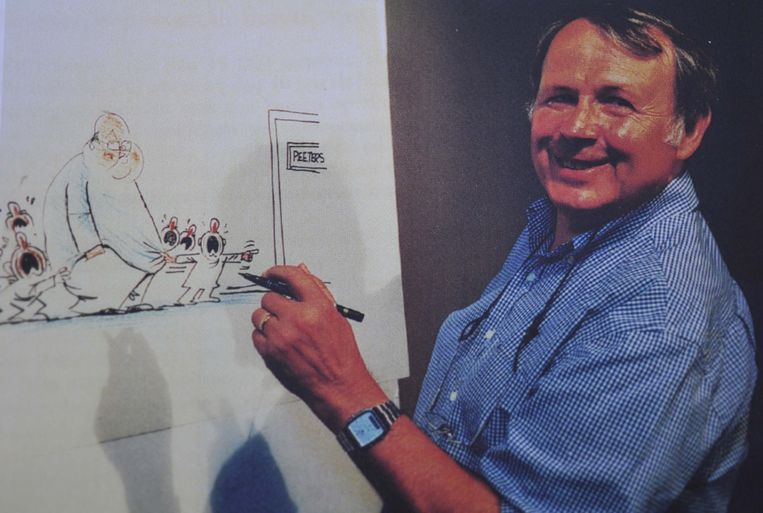 Paul De Valck alias Cartoonist Brasser.