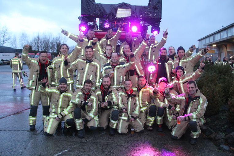 Brandweerpost Dendermonde stuurt een delegatie naar Fire For Life.