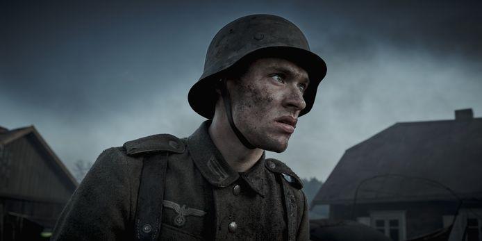 Scène uit de speelfilm De Slag om de Schelde.