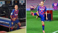 """""""Wat 20 miljoen je tegenwoordig oplevert"""": lolbroeken op social media hebben vette kluif aan mislukt trucje van nieuwe Barça-spits"""