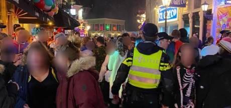 Politie pakt zestien mensen op tijdens carnavalsnacht in Breda