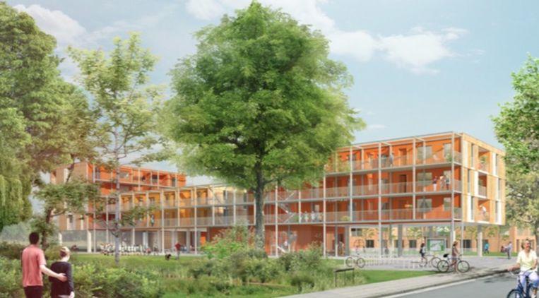 Het Somergempark zal een nieuwe groene omgeving in de wijk creëren.