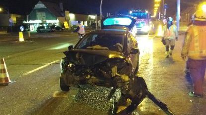 Drie gewonden na zware klap op kruispunt