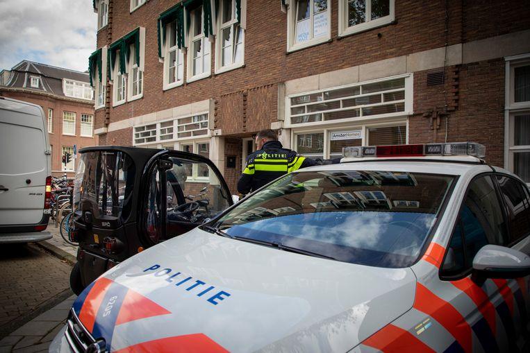 Bij een schietpartij vorige week aan de Imstenrade in Buitenveldert is advocaat Derk Wiersum doodgeschoten. Beeld ANP