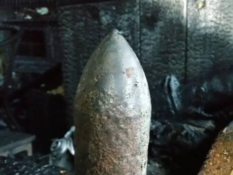 Munitie uit Tweede Wereldoorlog ontdekt in schuur Etten-Leur na uitslaande brand