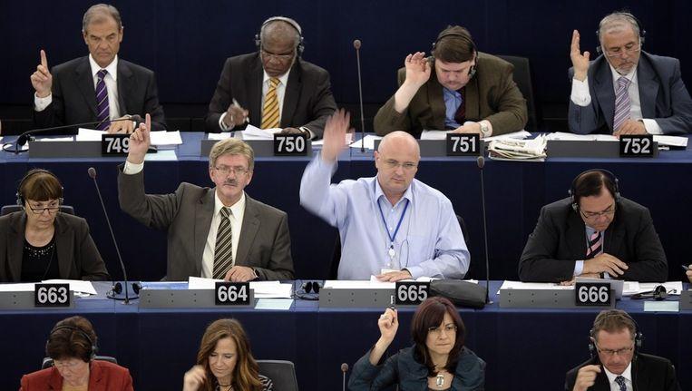 Met een grote meerderheid werd het voorstel voor de verhoging van de meerjarenbegroting voor 2014-2020 vandaag in het Europees Parlement aangenomen. Beeld null