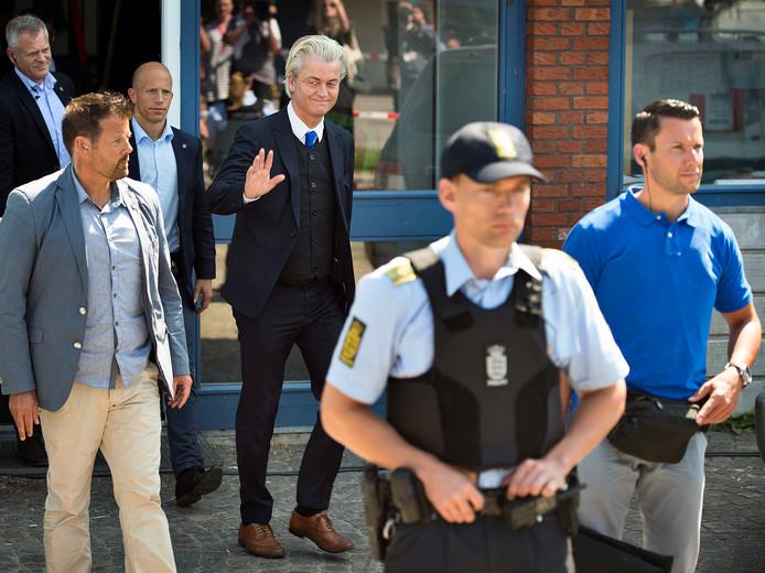 Geert Wilders nam in 2015 deel aan een debat tijdens Folkemødet, het politieke festival in Denemarken dat model staat voor D'RAN 17.