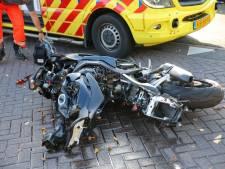 Motorrijder zwaargewond na ongeluk in Oosterhout