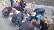Leerlingentekenenzelfveiligfietspadnaarschool