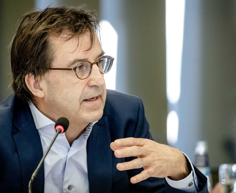 Diederik Gommers, anesthesioloog-intensivist in het Erasmus MC. Beeld ANP