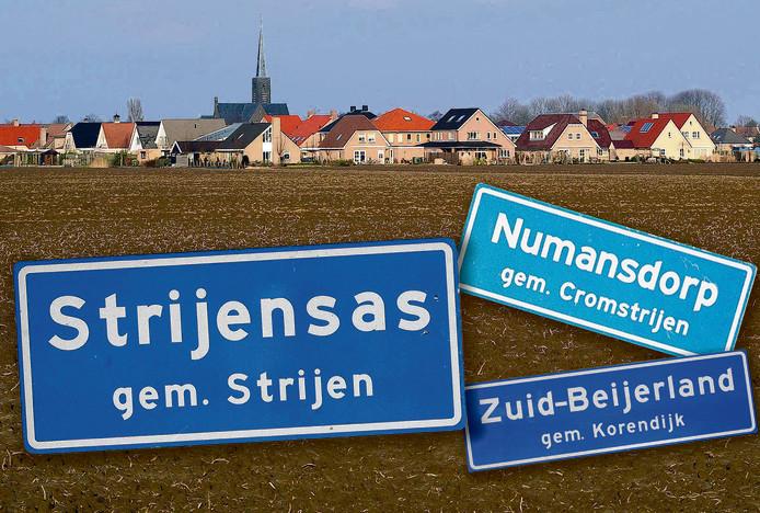 Korendijk, Strijen, Oud-Beijerland, Binnenmaas en Cromstrijen worden per 1 januari 2019 één gemeente Hoeksche Waard.