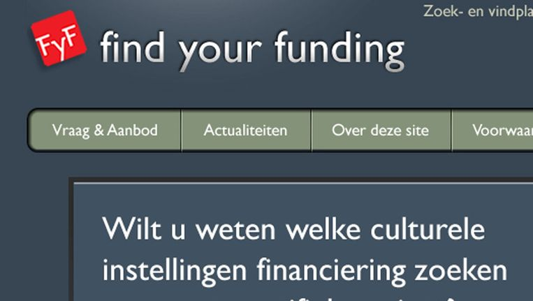 null Beeld Find Your Funding