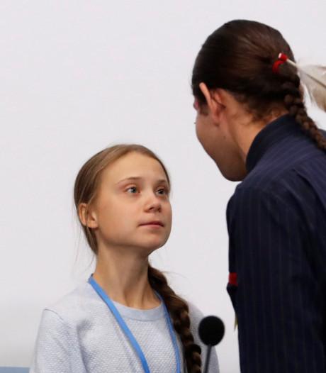 """Thunberg: """"Il y a des enfants qui sont déjà affectés par le changement climatique"""""""