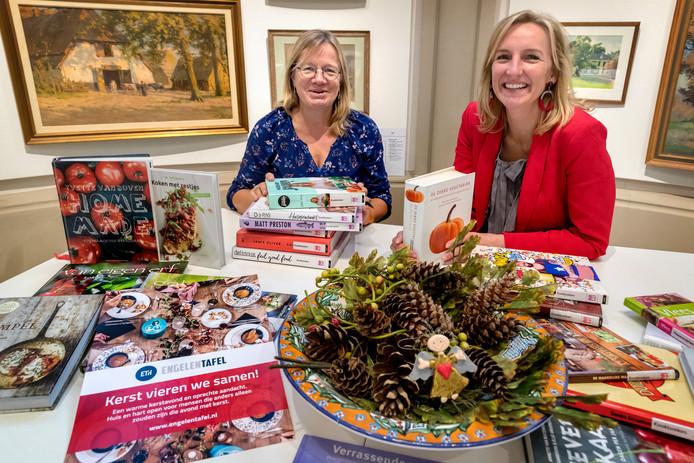 Jeannette Saatrube (rechts) nam het initiatief voor de Stichting EngelenTafel en wil verder groeien.