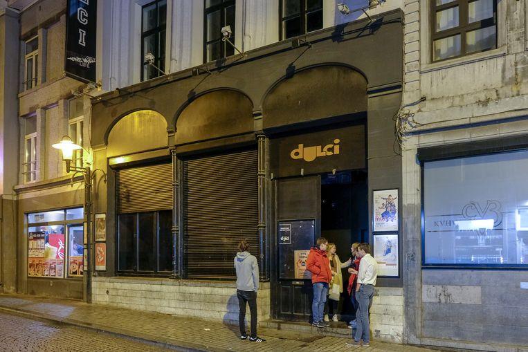 De drinkwedstrijd bij studenten in Leuven vond plaats in café Dulci.