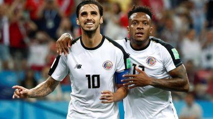 Verdienstelijk Costa Rica sleept puntje uit de brand tegen Zwitserland na late penalty