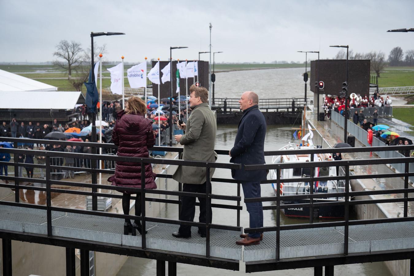 Een maand geleden nam koning Willem-Alexander hoogwatergeul Het Reevediep bij Kampen in gebruik.