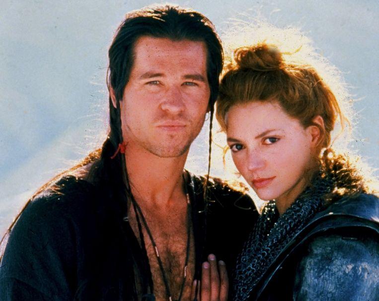 Val Kilmer en z'n echtgenote Joanne Whalley in 'Willow'