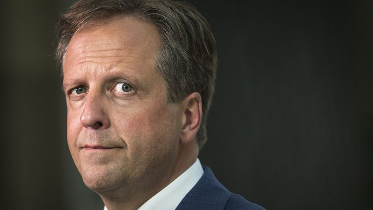 D66-leider Alexander Pechtold. Beeld Jerry Lampen, anp