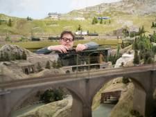 Al veertig jaar priegelen aan miniatuurtreinen: ModelSpoorGroep 's-Hertogenbosch viert jubileum