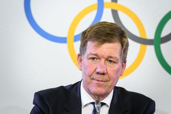 Richard Budgett, medisch hoofd van het IOC.