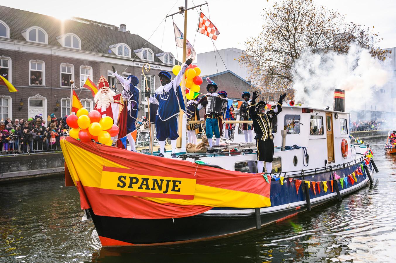 De aankomst van de Sint in Veghel werd als enige aangekondigd door Meierijstad.