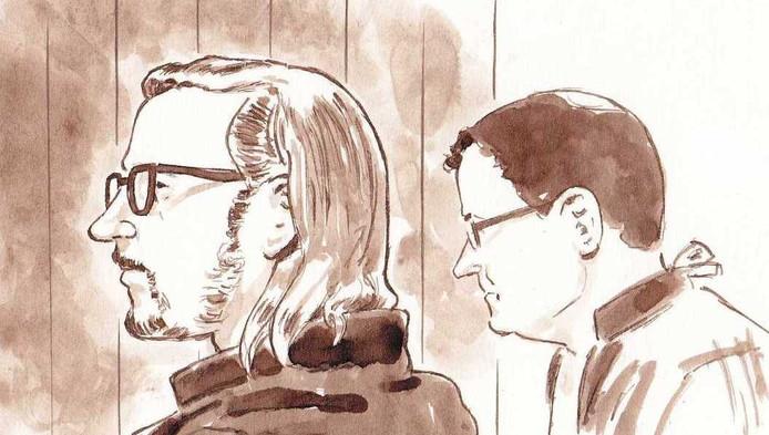 Aydin C. (l) en zijn advocaat Robert Malewicz