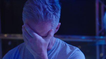 """Christoff in tranen tijdens repetitie: """"Ik ben aan het falen"""""""
