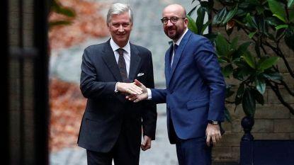 Koning Filip aanvaardt ontslag regering-Michel, regering in lopende zaken en geen vervroegde verkiezingen