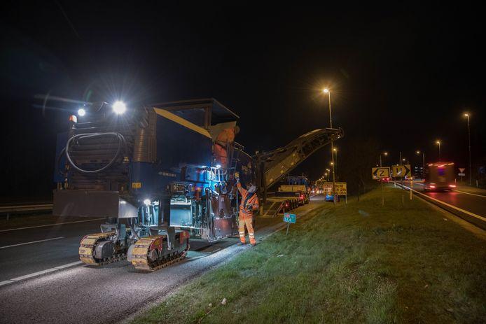 Werkzaamheden op de  A28 zorgen ook de komende tijd voor ernstige verkeersoverlast.