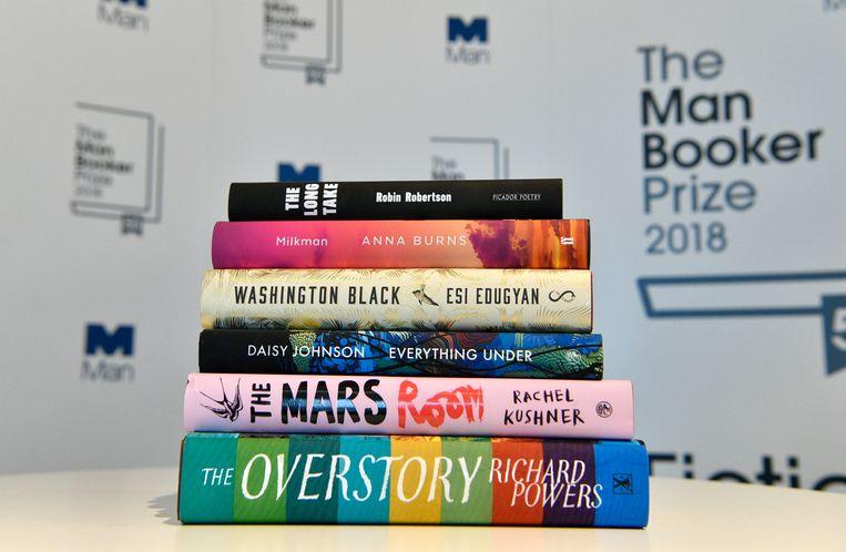 De genomineerde boeken voor de Man Booker Prize Beeld EPA