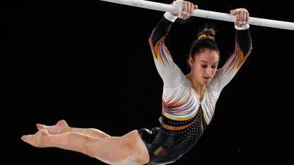 Nina Derwael wint goud in Wereldbeker Doha