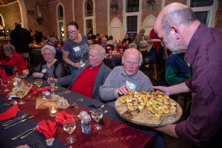 Kerst met de burgemeester in de Kapelle van de Bruinbeke.