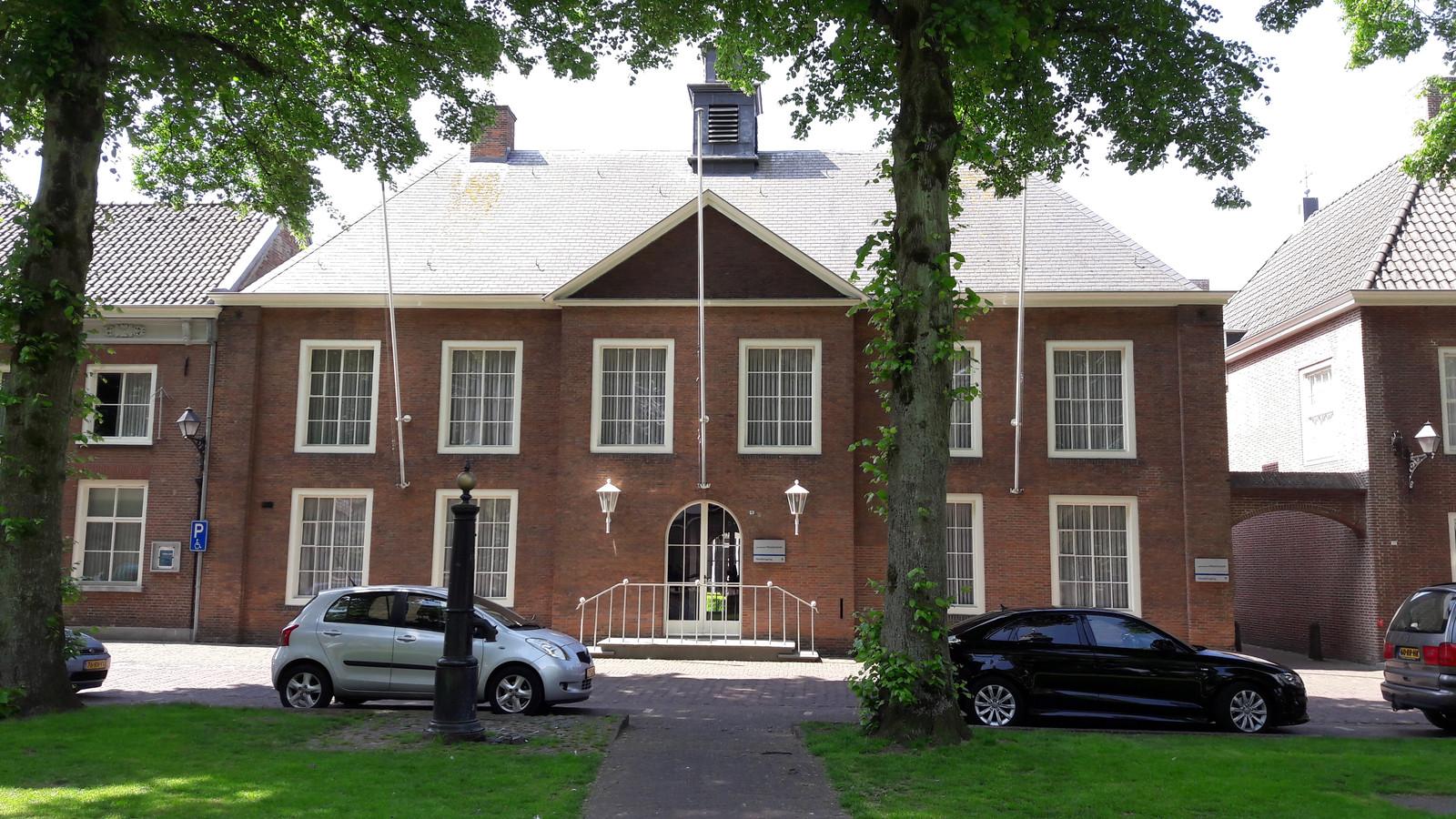 Het gemeentehuis van Hilvarenbeek.