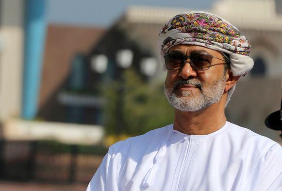 Haitham al Said is aangeduid als de nieuwe sultan.