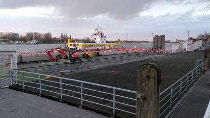Veerdienst week dicht door werk aan ponton Steenplein