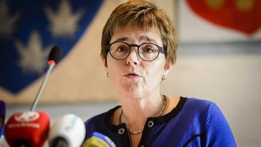 De burgemeester van Geldermalsen, Miranda de Vries.