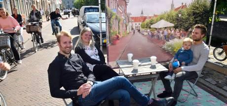 Jonge ontwerpers willen parkeerplaatsen opofferen en minder auto's in Amersfoort