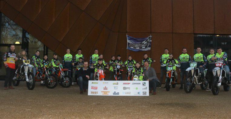 MC Avanti organiseert de finales van het Belgisch kampioenschap voor nieuwelingen, quads en zijspannen
