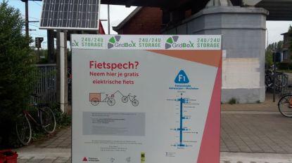 Fietskluizen op fietsostrade Mechelen-Antwerpen zijn klaar voor gebruik