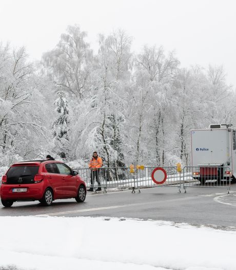 Les Hautes Fagnes sont à nouveau interdites à la circulation ce week-end
