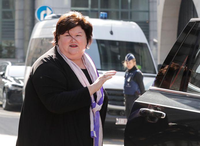 Maggie De Block, ministre de la Santé.