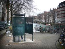 Vaarwel donkergroene Amsterdamse plaskrul