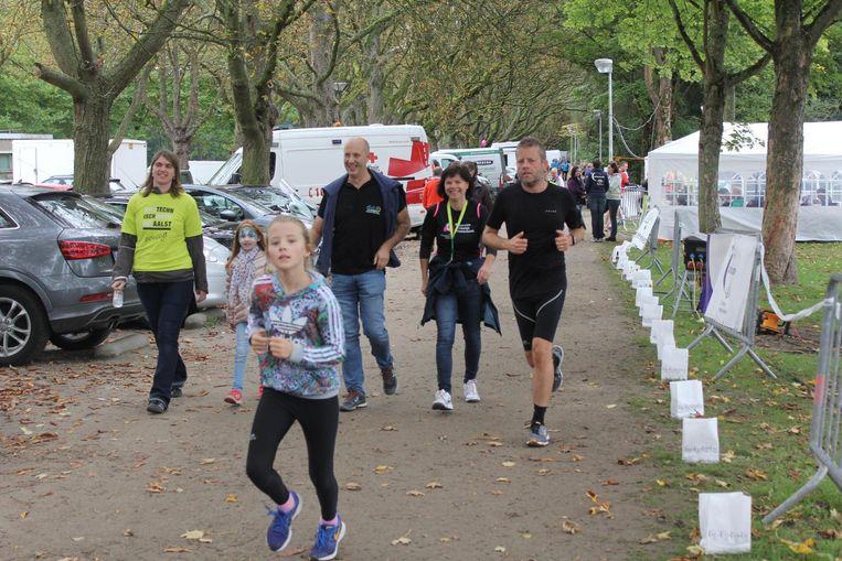 Er waren meer dan 5000 lopers, tegenover de 3.300 deelnemers van vorig jaar.