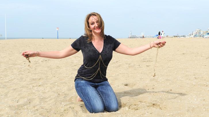 Strand is voor voeten een helende én hemelse scrub